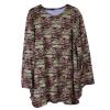 attiremadness | woman | tshirt | plus size | oversize printed tops