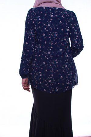 attiremadness   woman   blouse   floral   bunga