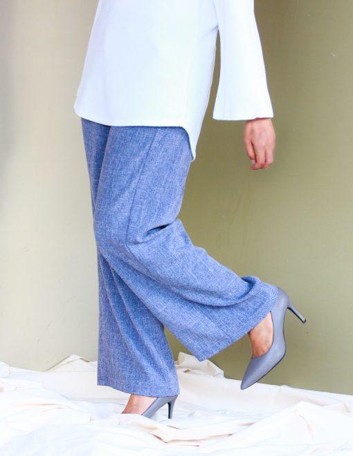 attiremadness | woman | pants | ironless | cotton linen