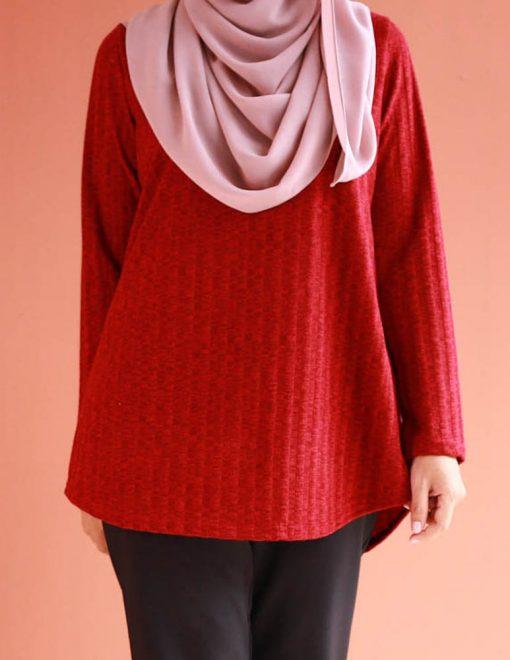 attiremadness   women   tshirt   ironless   muslimah   long sleeve
